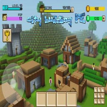 Crafting and city building PE screenshot 1