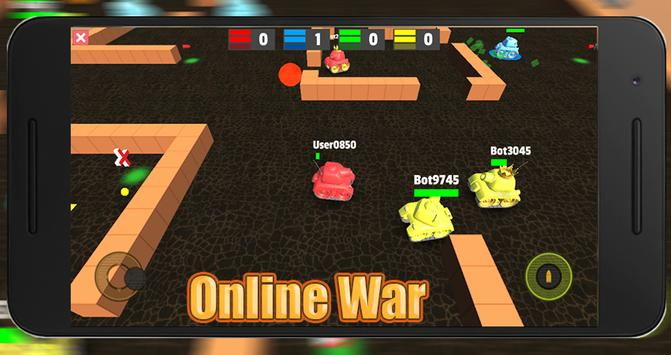 Mini Tank.io Online apk screenshot