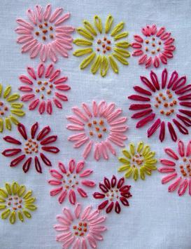 Easy hand embroidery tutorial screenshot 4
