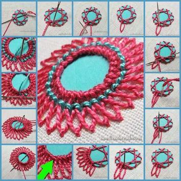 Easy hand embroidery tutorial screenshot 3