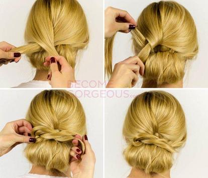 Easy Hairstyle Tutorial Step by Step poster