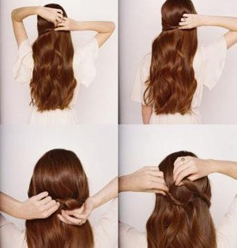 Easy Hairstyle Tutorial Step by Step screenshot 1