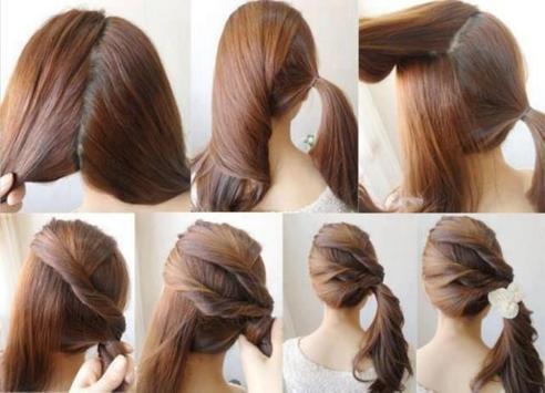 Easy Hairstyle Tutorial Step by Step screenshot 2