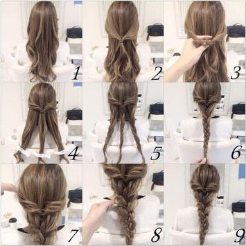 Easy Hairstyle Tutorial Step by Step screenshot 3