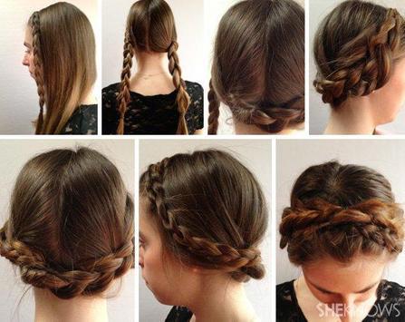 Easy Hairstyle Tutorial Step by Step screenshot 4