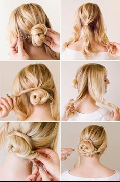 Easy Hairstyle Tutorial Step by Step screenshot 5