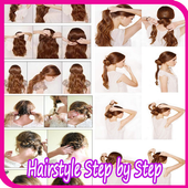Easy Hairstyle Step by Step icon
