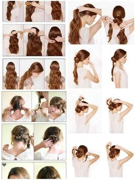 Easy Hairstyle Step by Step poster