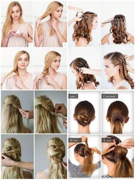 Easy Hairstyle Step by Step screenshot 1