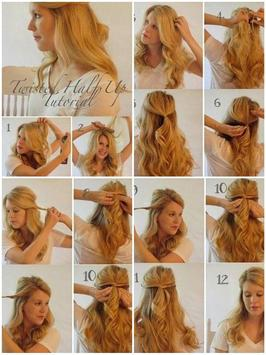 Easy Hairstyle Step by Step screenshot 2