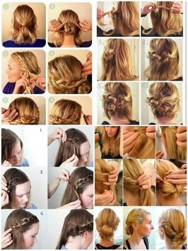 Easy Hairstyle Step by Step screenshot 3