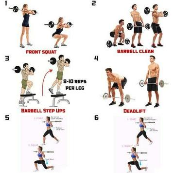 Gym Workout Routines At Home Screenshot 10