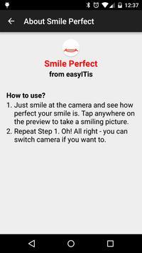 Smile Perfect Camera apk screenshot