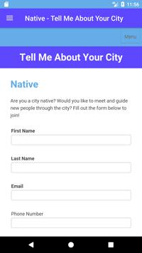 Tell Me About Your City apk screenshot