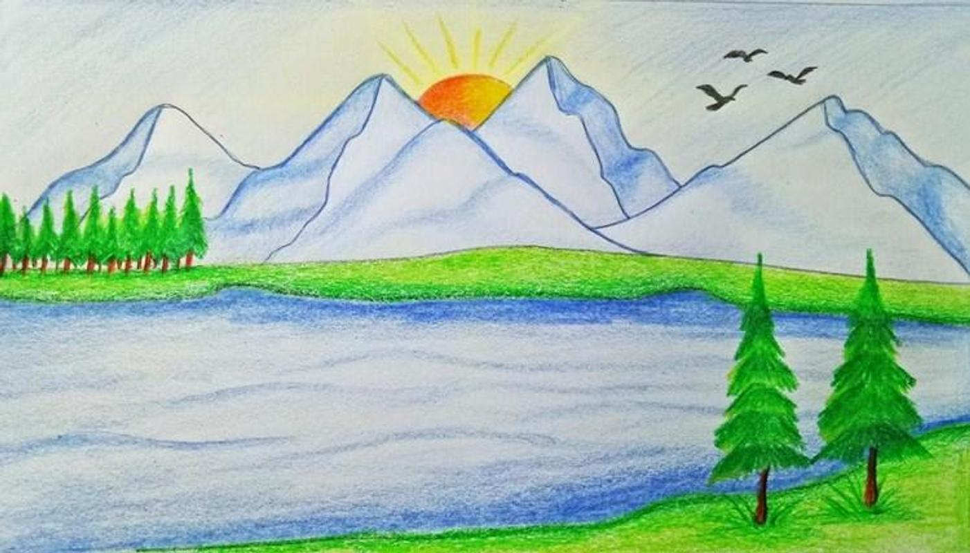 easy landscape drawing for android apk download