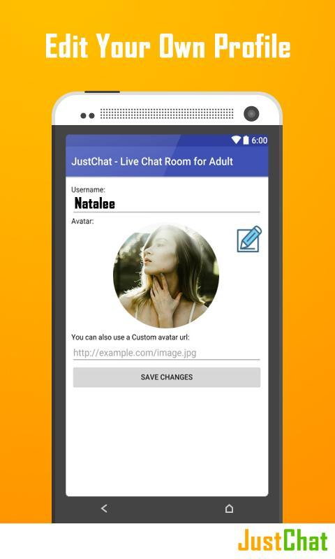 JustChat - Live Chat Room for Adult poster ...