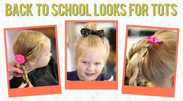 Easy Little Girl Hairstyles screenshot 1