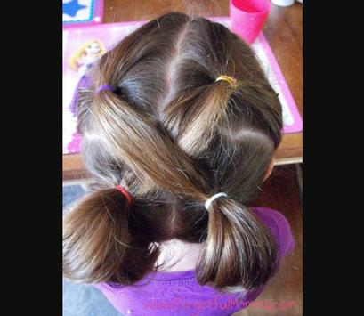 Easy Little Girl Hairstyles screenshot 5