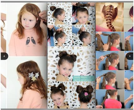 Easy Little Girl Hairstyles poster