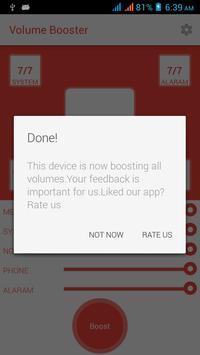 Volume Booster Sound Maximise apk screenshot