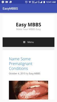 EasyMBBS screenshot 1