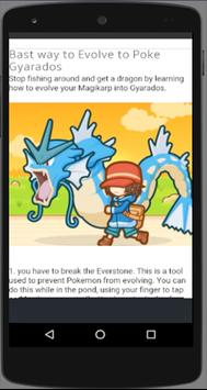 New Poke Magikarp Jump Guide* apk screenshot