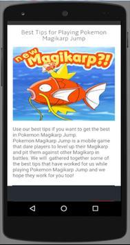 New Poke Magikarp Jump Guide* poster