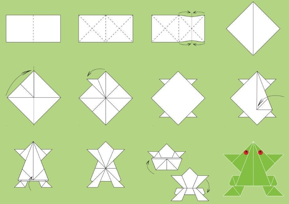 Шутка открытка, картинки как складывать оригами