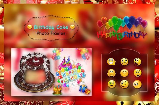 Birthday Cake Photo Frame screenshot 3