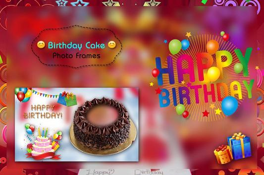 Birthday Cake Photo Frame screenshot 1