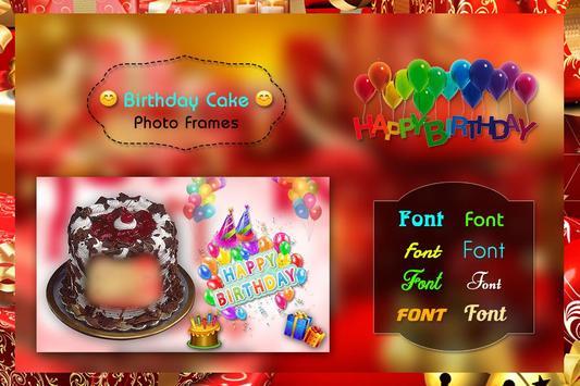 Birthday Cake Photo Frame screenshot 6
