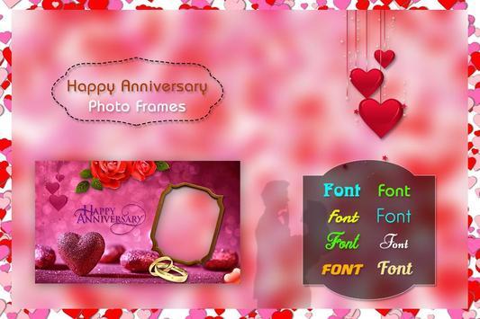 Happy Anniversary Photo Frames screenshot 1