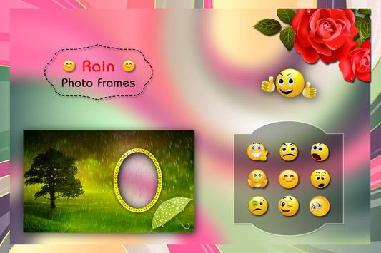 Rainy Photo Frames screenshot 1