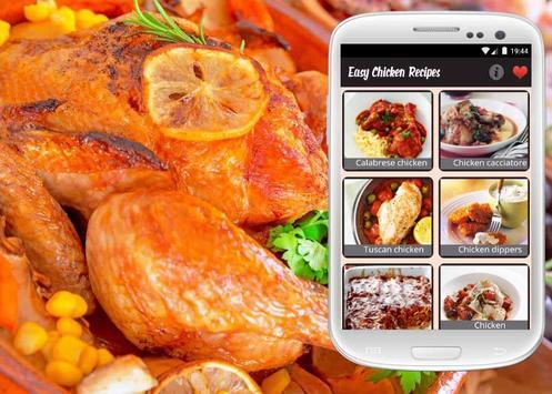 Easy Chicken Recipes poster