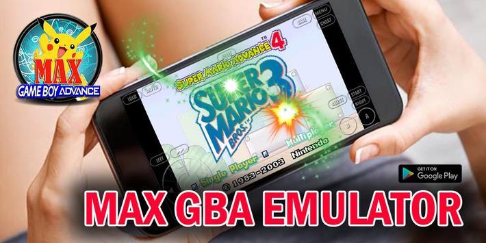 Max GBA Emulator poster