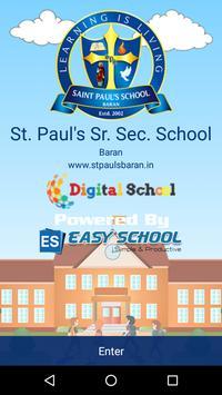 St. Paul's School Baran poster