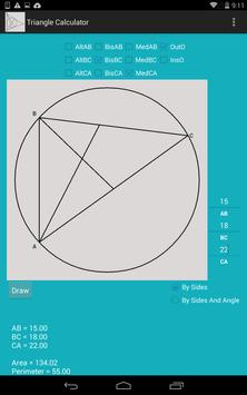 Triangle Calculator poster