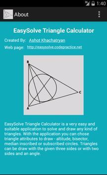 Triangle Calculator screenshot 11