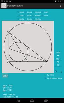 Triangle Calculator screenshot 2