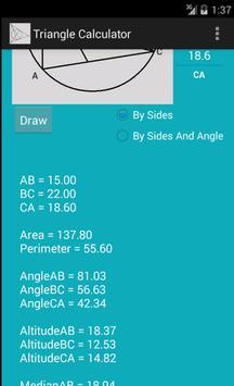 Triangle Calculator screenshot 9