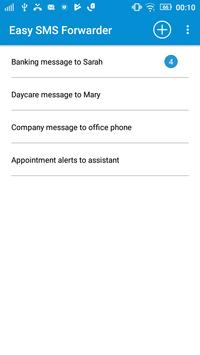 Easy SMS Texts Forwarder & Manager (Free & No Ads) poster