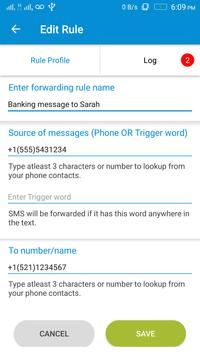 Easy SMS Texts Forwarder & Manager (Free & No Ads) screenshot 1