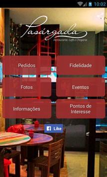Restaurante Pasárgada poster