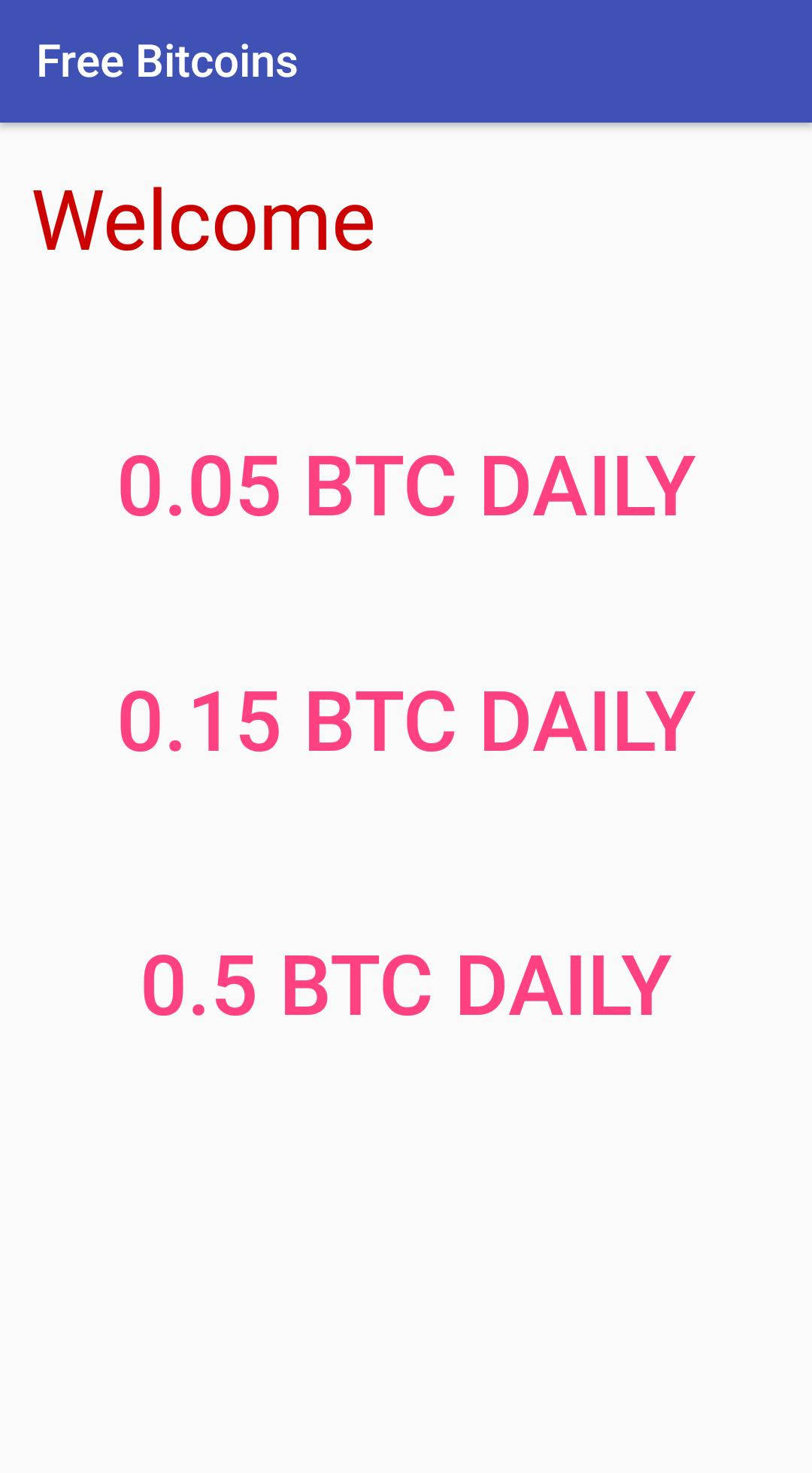 Earn 1 Btc Daily Free