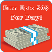 Earn Up to 50$ Per Day icon