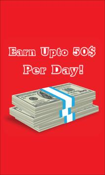 Earn Up to 50$ Per Day poster
