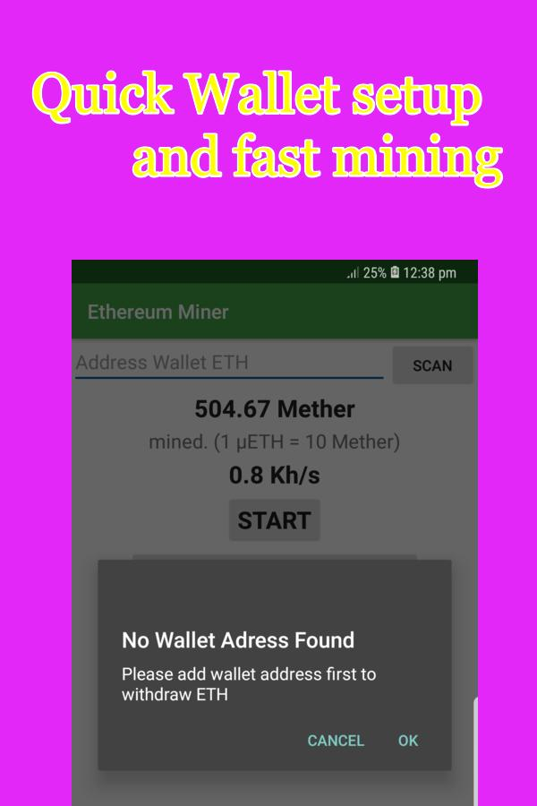Free Ethereum Miner-Easy,Fast Mining Quick Payouts for