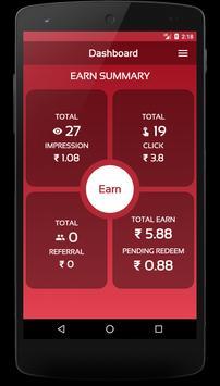 Earn Money By View apk screenshot