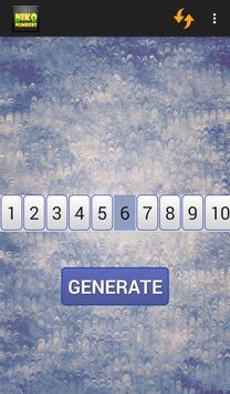 KINO NUMBERS apk screenshot