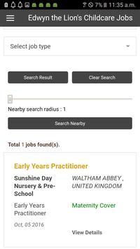 Childcare Jobs Listings apk screenshot